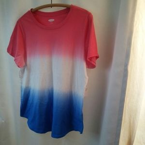 Dip Dyed T-shirt & Memories of Summers Past, L